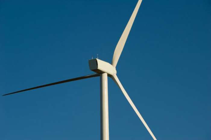 Installation of Five Power-Generating Wind Turbines